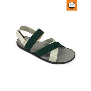 Giày sandal quai chéo phối màu trẻ trung Evest A249 thumbnail