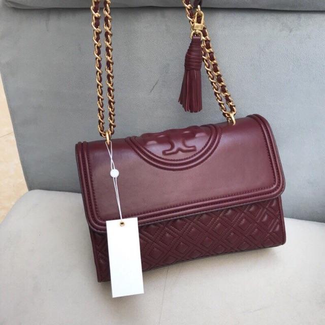 ?RẺ VÔ ĐỊCH?(2 màu) Túi Tory Burch Fleming Small Convertible Shoulder Bag