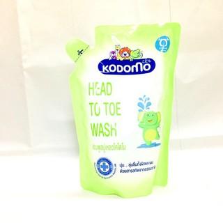 Combo dầu tắm gội cho bé Kodomo 380ml