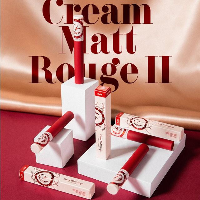 [Mã COSHOT24 hoàn 8% xu đơn 250K] Son Kem Lì Black Rouge Creamy Matt Rouge-[Coco Shop]