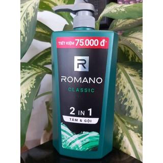 Tắm & gội Romano Classis 900g