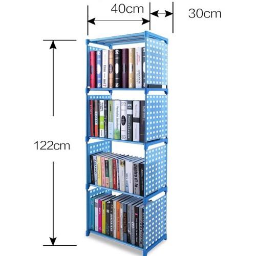 Tủ sách 4 tầng