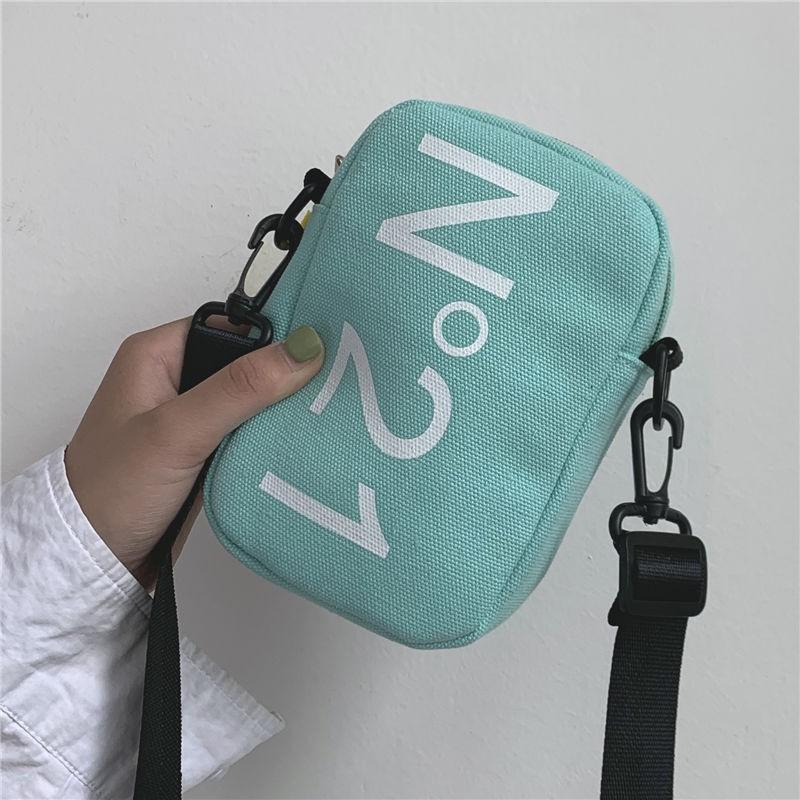 Túi Đeo Chéo Vải Mini Phong Cách Cực Chất D9309