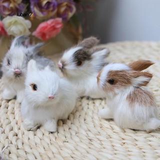 Thỏ con nhồi bông dễ thương dùng làm đồ chơi trẻ em thumbnail