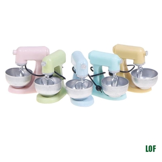 [lof] 1:12 Dollhouse Miniature Kitchen Modern Mixer Model Furniture Accessories Toys