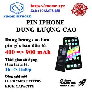 PIN ZIN IPHONE DUNG LƯỢNG CAO + TẶNG KÈM TOOL MỞ 5 5C 5S SE 6 6P 6S 6SP 7 7P 8 8P X XR XS XSMAX thumbnail