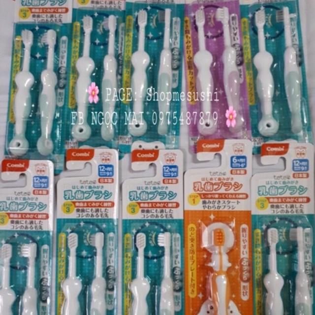 ?❄️?Bộ bàn chải đánh răng bước 1, bước 2, bước 3 Teteo Combi ?❄️? - 2701666 , 650678850 , 322_650678850 , 124000 , Bo-ban-chai-danh-rang-buoc-1-buoc-2-buoc-3-Teteo-Combi--322_650678850 , shopee.vn , ?❄️?Bộ bàn chải đánh răng bước 1, bước 2, bước 3 Teteo Combi ?❄️?