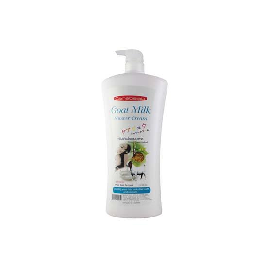 Sữa tắm dê Carebeau Goat Milk Shower Cream 1150ml White