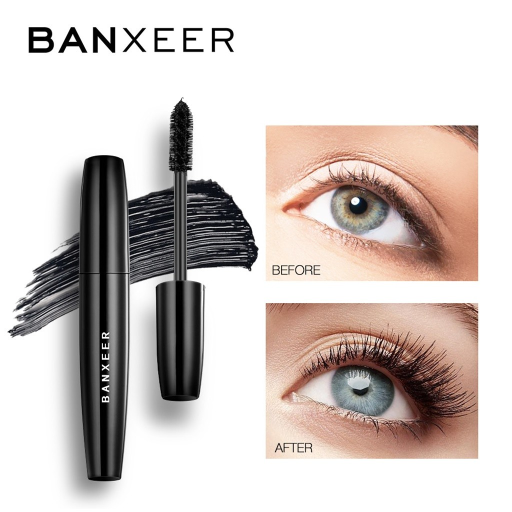 Mascara hiệu BANXEER kháng nước lâu trôi và giúp chuốt hàng lông mi hoàn hảo