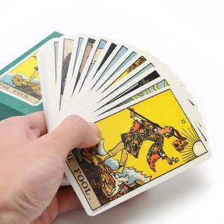 Bộ 78 lá bài Tarot phiên bản tiếng anh chuyên dụng | squishygiare698