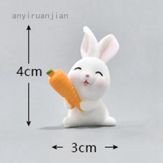 hoạt hình Mô hình họa tiết thỏ cà rốt bằng nhựa dùng chuyên dụng trang trí sân vườn thumbnail