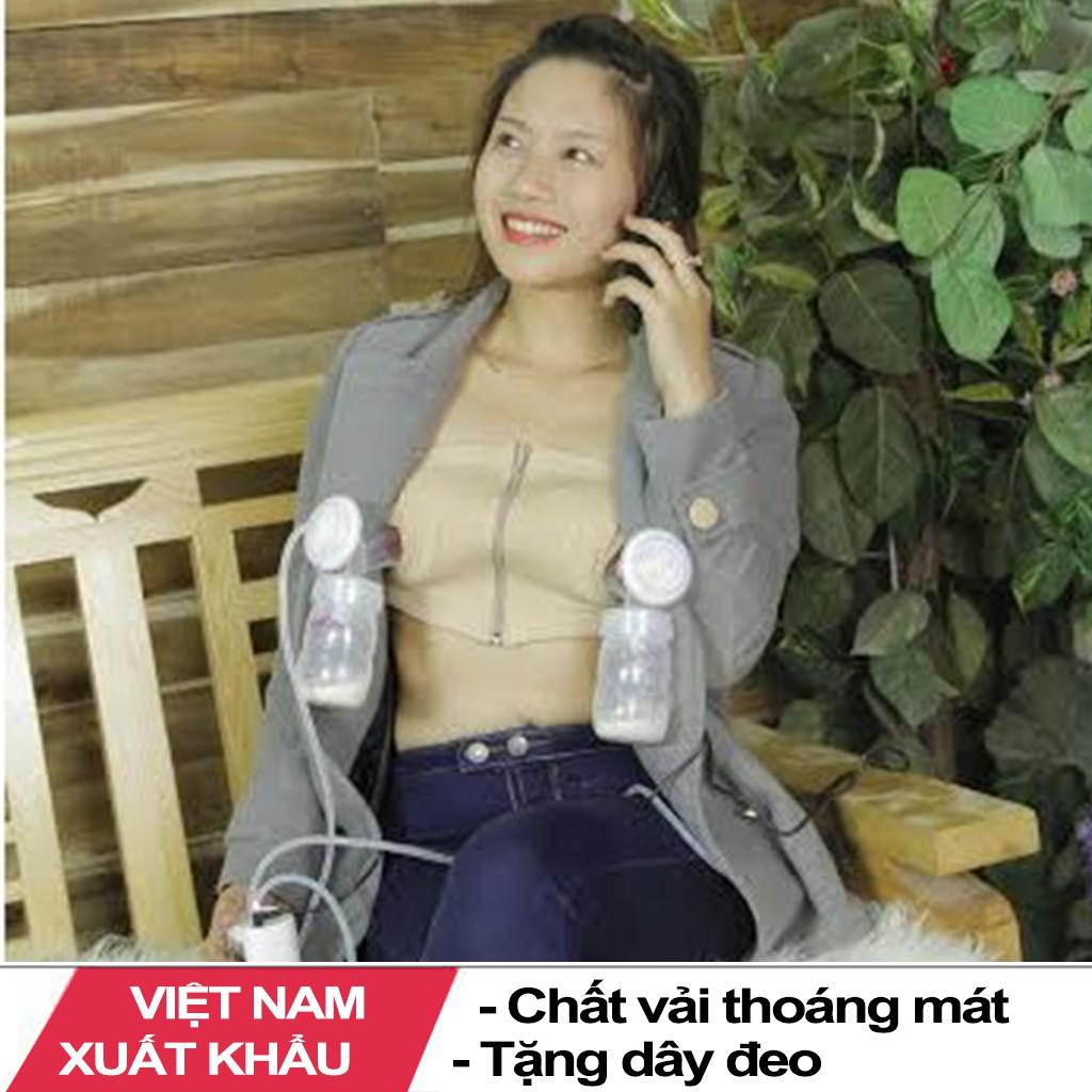 Áo Hút Sữa Rảnh Tay ( Việt Nam ất Khẩu )