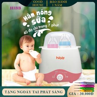 Máy hâm sữa tiệt trùng bình sữa 4 trong 1 an toàn và tiện lợi cho bé yêu của bạn. Bảo hành 1 năm, 7 ngày lỗi đổi mới. thumbnail