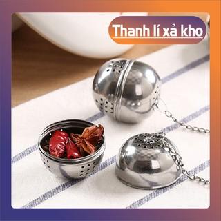 (Xả Kho Cắt Lỗ) Dụng cụ lọc trà hình cầu làm bằng Inox–8571 (Hàng Xịn)