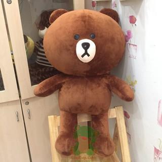 Gấu Bông Brow khổ vải 1,2m cao 1mcm