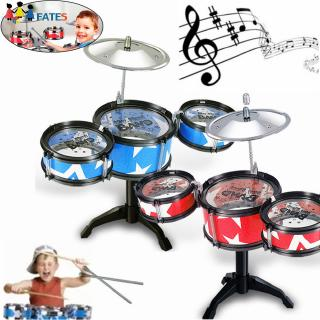 Children Simulated Jazz Drum Set Music Percussion Instrument Toys Random Deliver