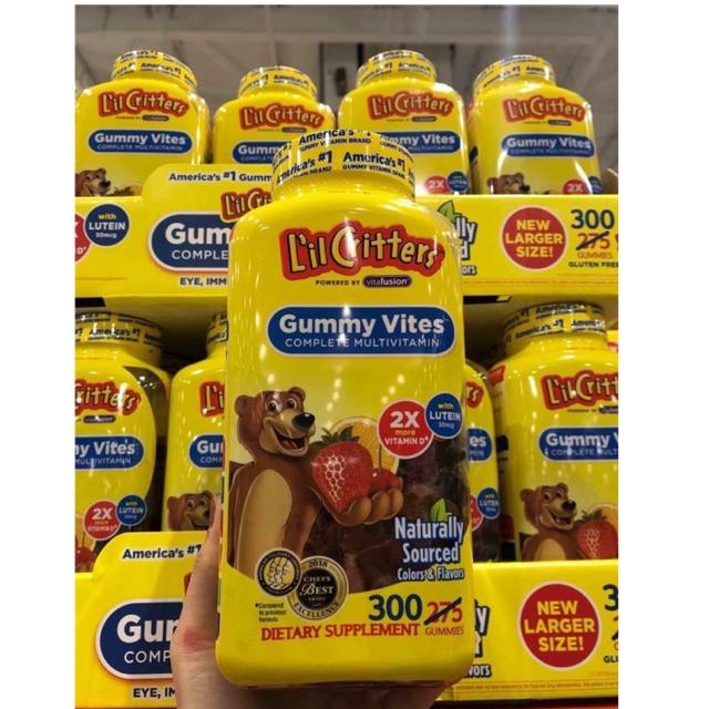 {Date 10/2019}-Kẹo dẻo hình Gấu bổ sung vitamin và khoáng chất L