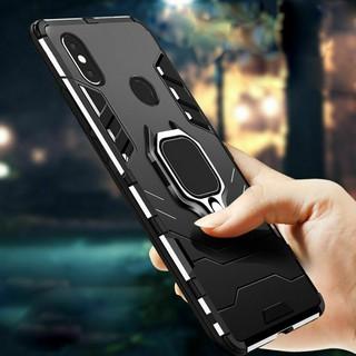 Ốp Lưng Điện Thoại Chống Sốc Có Vòng Đỡ Nam Châm Cho Xiaomi Mi 8 Pro / Mi 8 Lite / Mi 8 Se