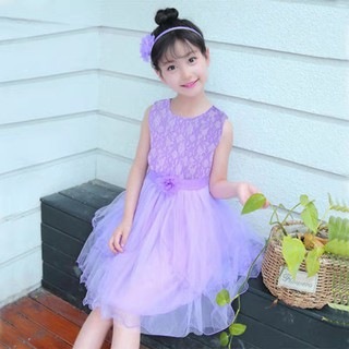 (NT020)Đầm trẻ em phối ren lưới chân váy dáng xòe cao cấp  siêu xinh  siêu sang chảnh