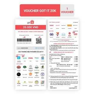 [HB Gift] Voucher Got it 20K
