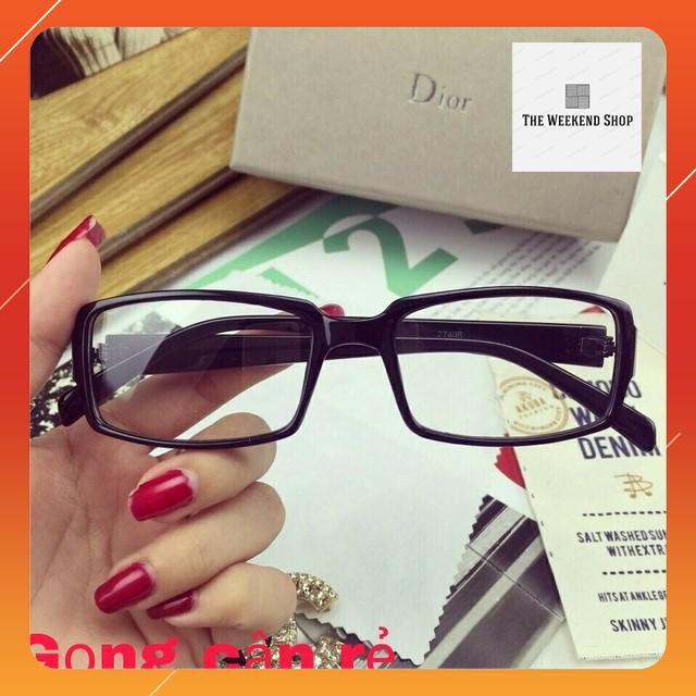 Mắt kính ngố tròn thời trang cao cấp kính teen kính có tròng kính ngố kính mắt mèo