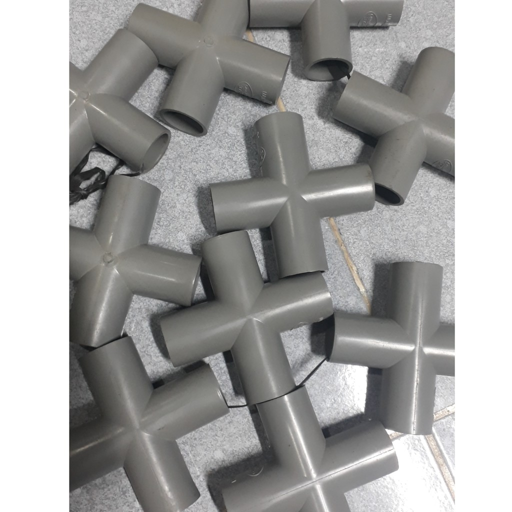 chữ thập nối ống PVC đủ size