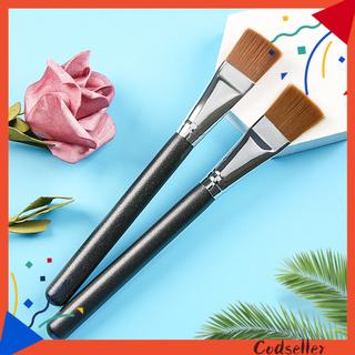 CODseller Facial Brush Hand-held Thick Handmade Flat Makeup Brush for Girl