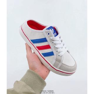 Giày thể thao nữ Shamidas Foot Foot Shamrock Canvas Giày mùa hè Giày thông thường 36-39