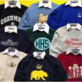 Áo sweater 2hand Mỹ loại 1 size L
