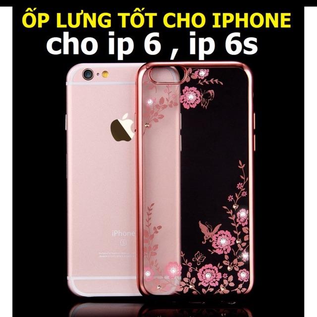 Ôp iphone 6/6S hoa dẻo - 2704244 , 733046783 , 322_733046783 , 45000 , Op-iphone-6-6S-hoa-deo-322_733046783 , shopee.vn , Ôp iphone 6/6S hoa dẻo
