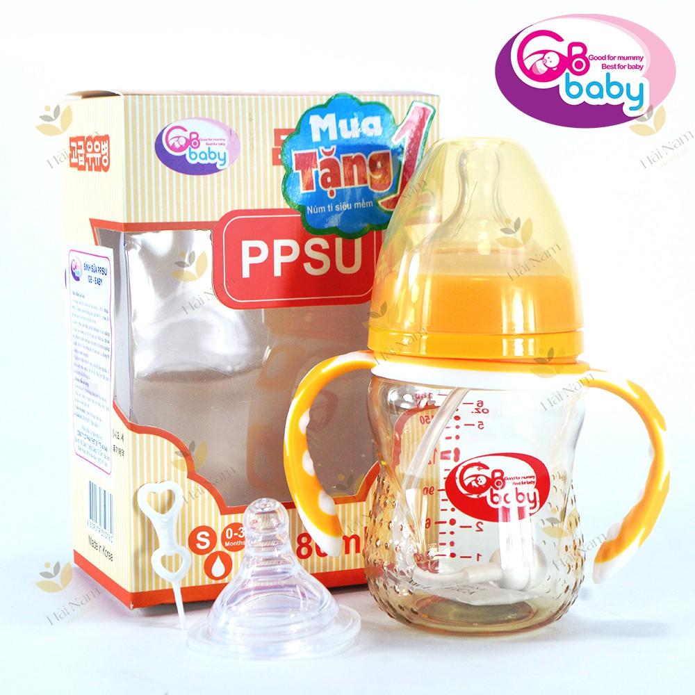 Bình sữa PPSU cổ rộng 180ml -240ml Hàn quốc