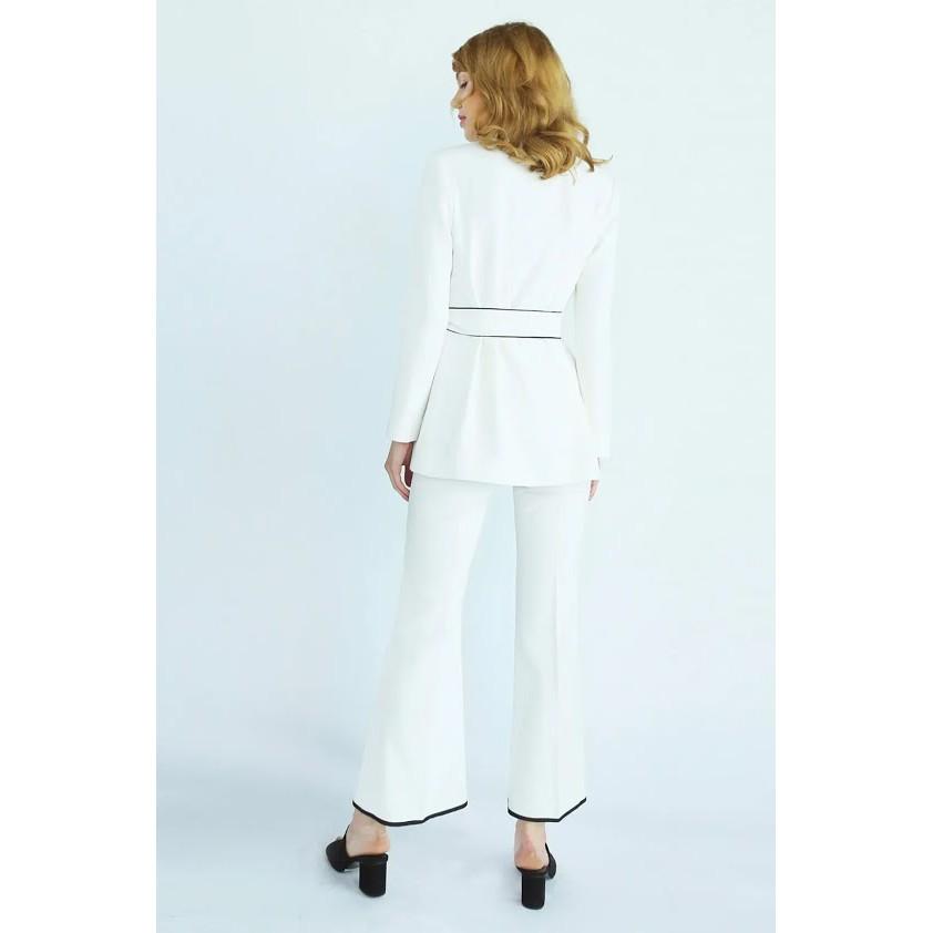 Quần Tây Ống Loe (Pip Trousers) Can De Blanc