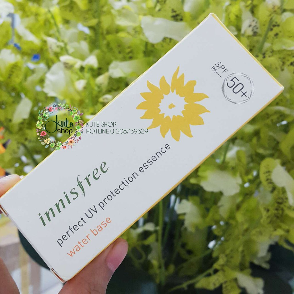 Water Base - Kem chống nắng cấp nước Innisfree Perfect UV Protection Essence SPF50 50ml