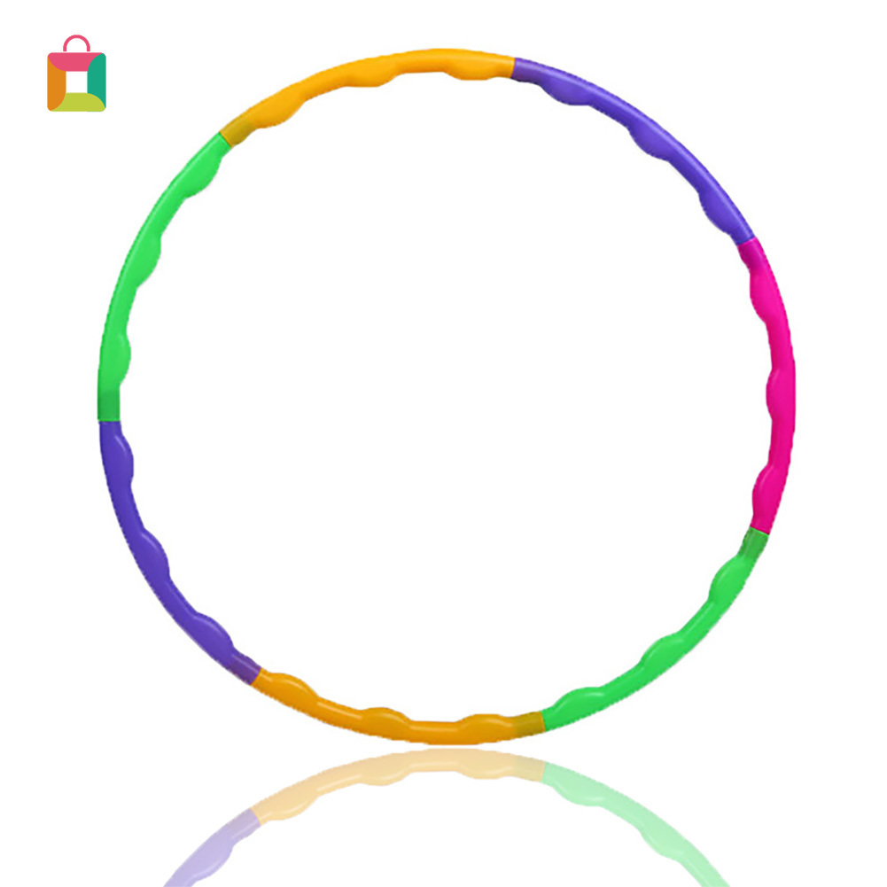 Removable Sport Hoop Children's Exercise Circle Plastic Massage Deconstructable Gymnastics Hoop YIYUE