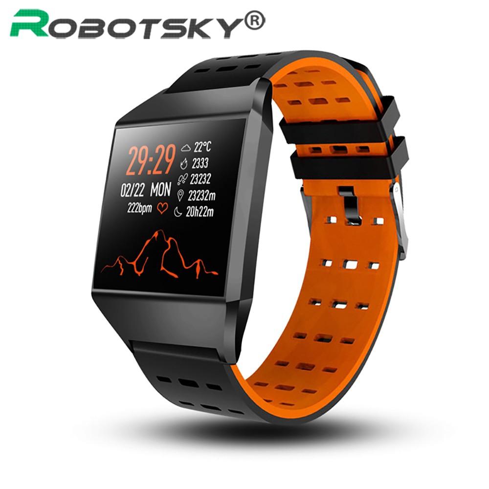 Đồng hồ thông minh chống nước w1c kết nối Bluetooth theo dõi sức khỏe