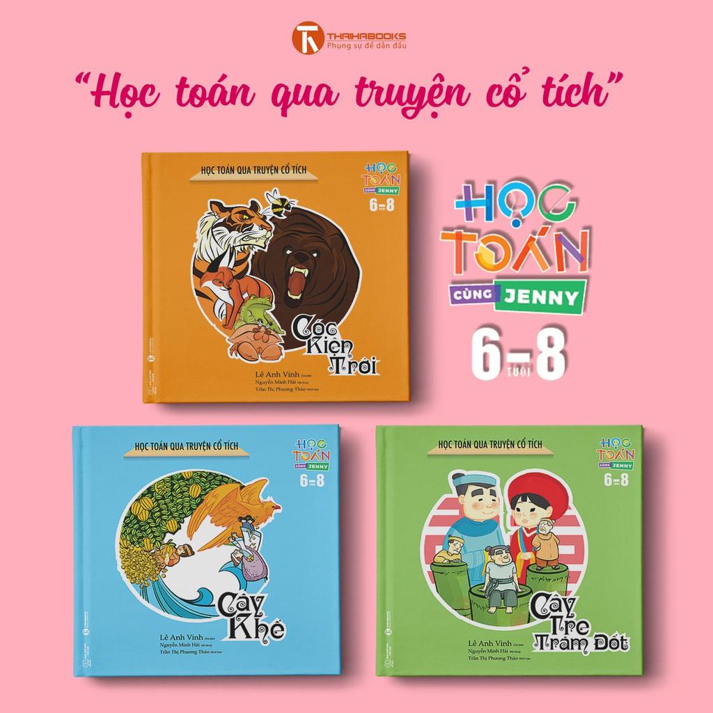 """Bộ Sách """"Học Toán Qua Truyện Cổ Tích"""" – Học Toán Cùng Jenny (6-8 Tuổi) - 2738296 , 521199205 , 322_521199205 , 147000 , Bo-Sach-Hoc-Toan-Qua-Truyen-Co-Tich-Hoc-Toan-Cung-Jenny-6-8-Tuoi-322_521199205 , shopee.vn , Bộ Sách """"Học Toán Qua Truyện Cổ Tích"""" – Học Toán Cùng Jenny (6-8 Tuổi)"""