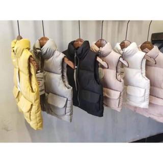 Áo phao gile túi hộp hàng quảng châu