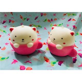 ( HỒNG) Cốc mèo hồng Squishy LN- đồ chơi cao cấp ( myanh886)