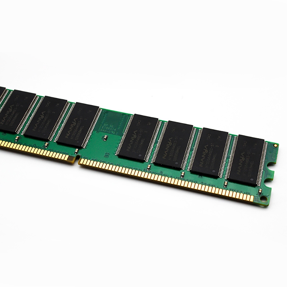 Transmission Stable Smoothly Fast DDR 1GB Compatible 400MHZ For Desktop Computer Low Density Memory