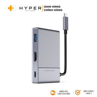 Cổng chuyển Hyperdrive GEN2 6-in-1 cho Macbook, iPad Pro, PC, Surface, Devices – HD-G206 -