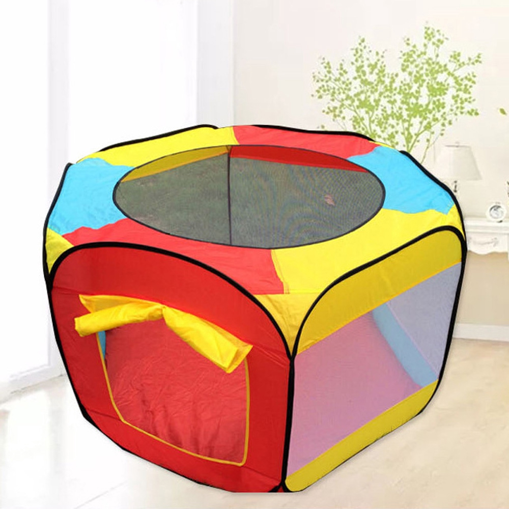 New Funny Ball Poor Game Play House Curtain Tent For Kids Baby play