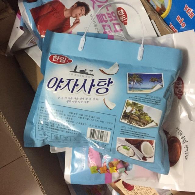 Kẹo Dẻo Trái Cây Hàn Quốc Vị Dừa 358g (Gói) - 3236229 , 669113208 , 322_669113208 , 33000 , Keo-Deo-Trai-Cay-Han-Quoc-Vi-Dua-358g-Goi-322_669113208 , shopee.vn , Kẹo Dẻo Trái Cây Hàn Quốc Vị Dừa 358g (Gói)