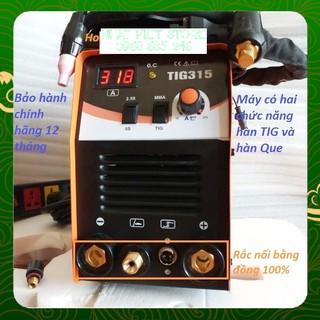 MÁY HÀN TIG JASIC 315A- MÁY HÀN 2 CHỨC NĂNG TIG VÀ QUE _ Nhật Việt official