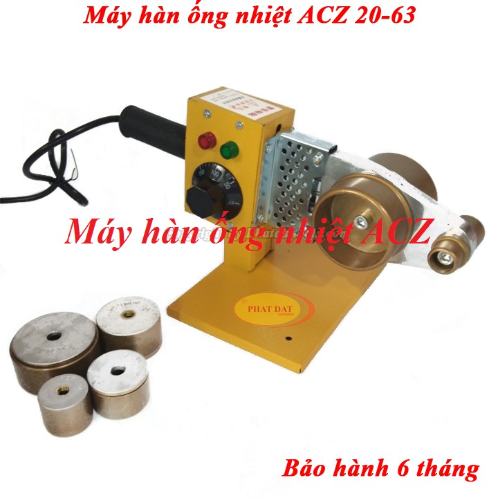 Máy Hàn Ống Nhiệt ACZ 20-63 chuyên dụng-Máy Hàn Ống Nhiệt ACZ 20-63 được thiết kế nhỏ gọn nhưng đầy mạnh mẽ