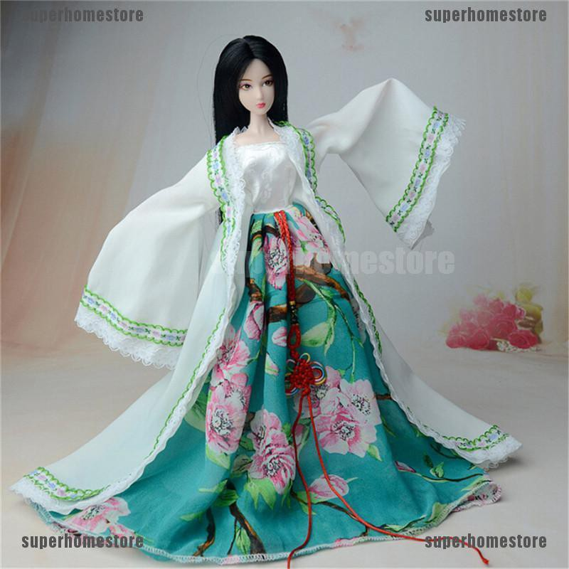 Đầm công chúa truyền thống Trung Quốc cho búp bê – Hàng nhập khẩu
