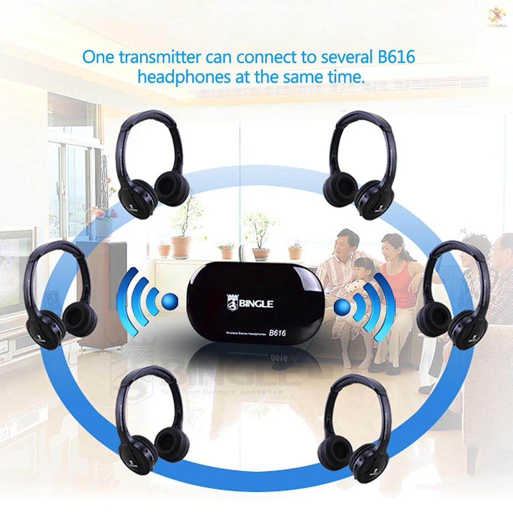 Tai Nghe Không Dây Đa Năng Et Bingle B616 Cho Mp3 Pc Tv Smart Phones