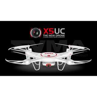 SYMA X5UC 2MP Camera Altitude Hold Mode Dual Battery 2.4G