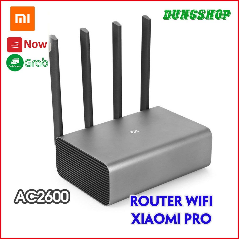 Bộ phát Wifi Router Xiaomi Pro - AC2600 / Router AC2350 / Router AX3600