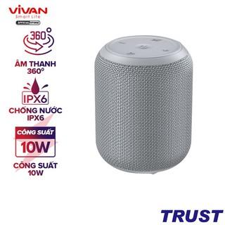 Loa Bluetooth 5.0 VIVAN VS12 Hi-Fi Công Suất 10W - Chống Nước IPX6 - Hỗ Trợ Kết Nối Cổng AUX/MicroSD
