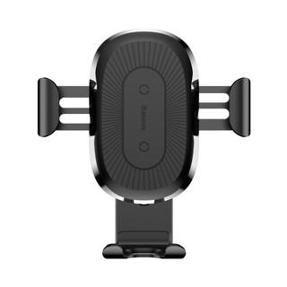 Giá đỡ điện thoại trên ô tô ( kiêm sạc không dây) Baseus Wrieless Charger Gravity Car Mount LV117